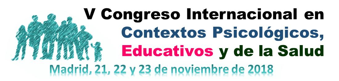 Resultado de imagen de V Congreso Internacional en Contextos Psicológicos, Educativos y de la Salud