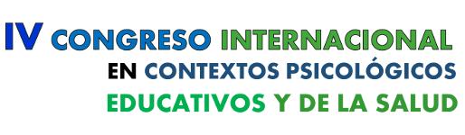 IV Congreso Internacional en Contextos Psicológicos Educativos y de la Salud